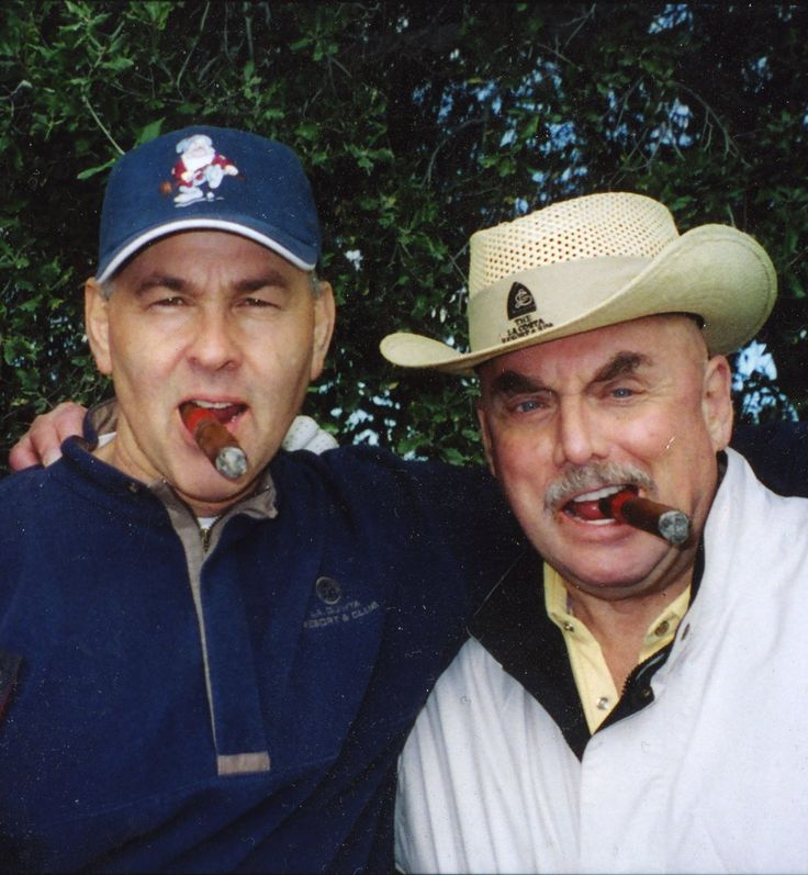 Paul Pape with longtime best friend, the late great Don LaFontaine