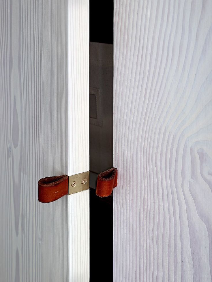 Straps For Closet Door Handles. Manly And Cool. How To Make A Basic Studio