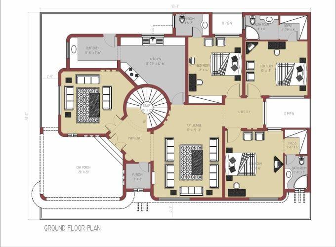 Graphic Design Services Hire A Graphic Designer Today Fiverr House Plans Mansion House Layout Plans House Floor Plans