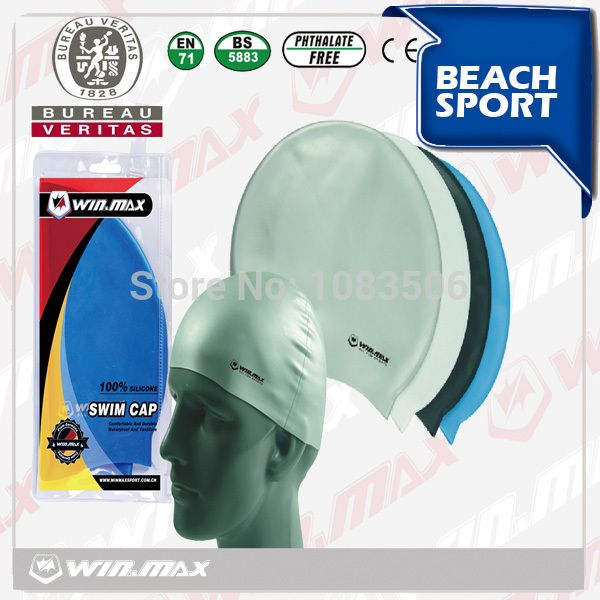 100% Diving/Swimming Silicone cap
