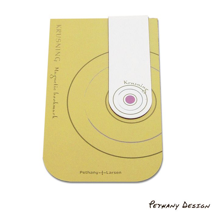 [ Kursning Magnetic Bookmark ] Material: Paper, Magnet. Designed in 2005 for Pethany+Larsen. Made in Taiwan.