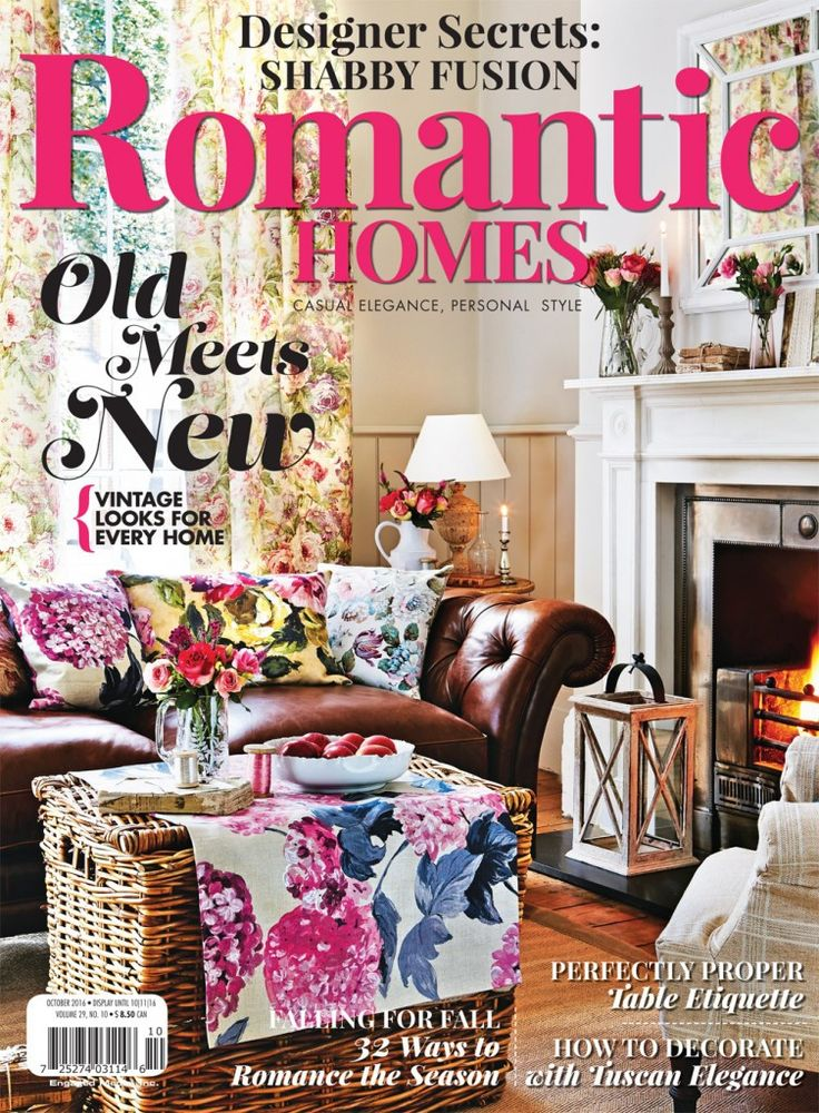 17 best ideas about romantic homes on pinterest home magazine romantic home decor and cool - Top home decor magazines ...