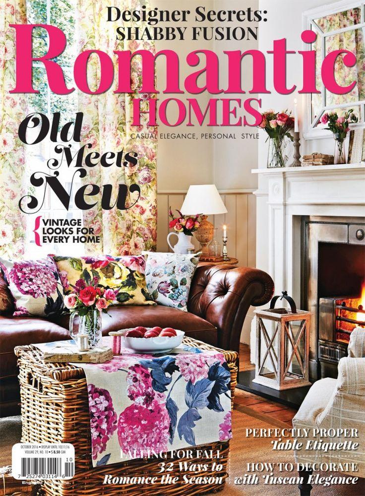 Romantic Homes, October 2016