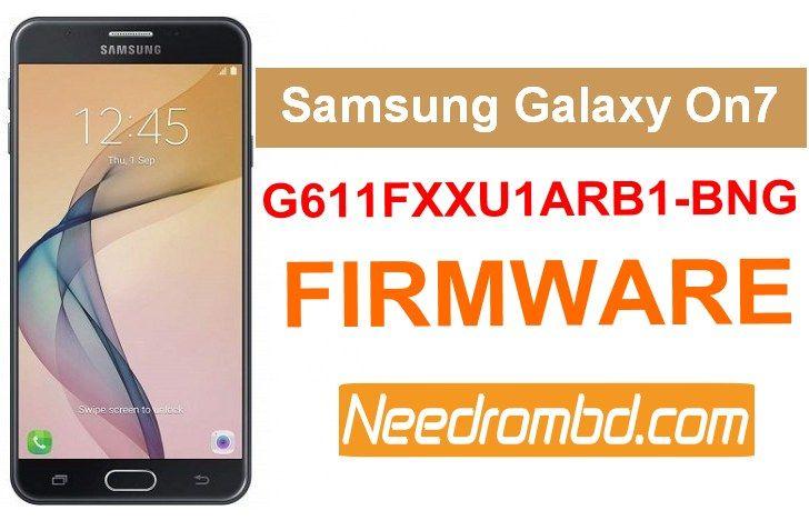 Samsung On7 Prime G611FXXU1ARB1 Firmware | Smartphone Firmware