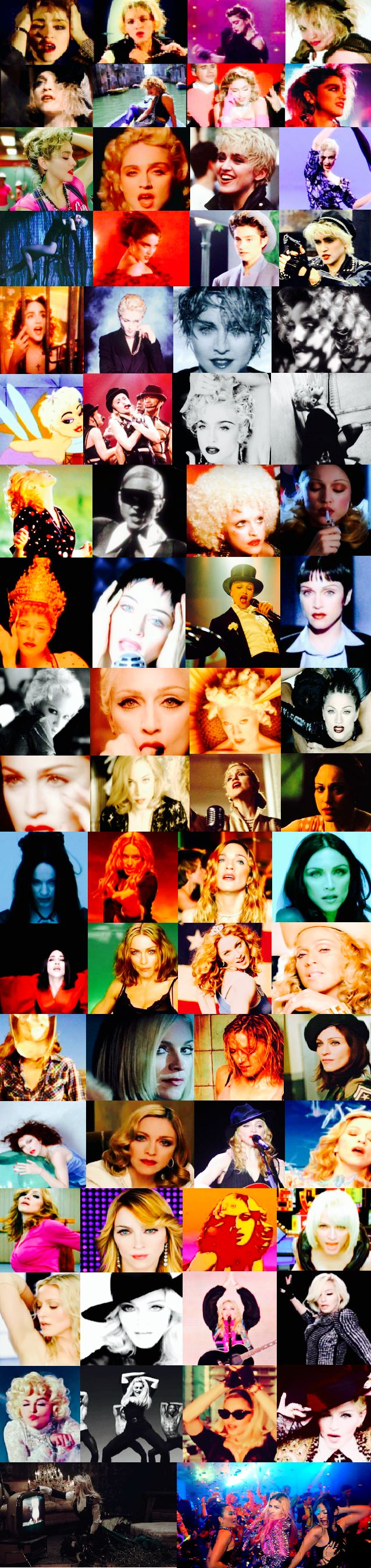 Madonna | photo collage