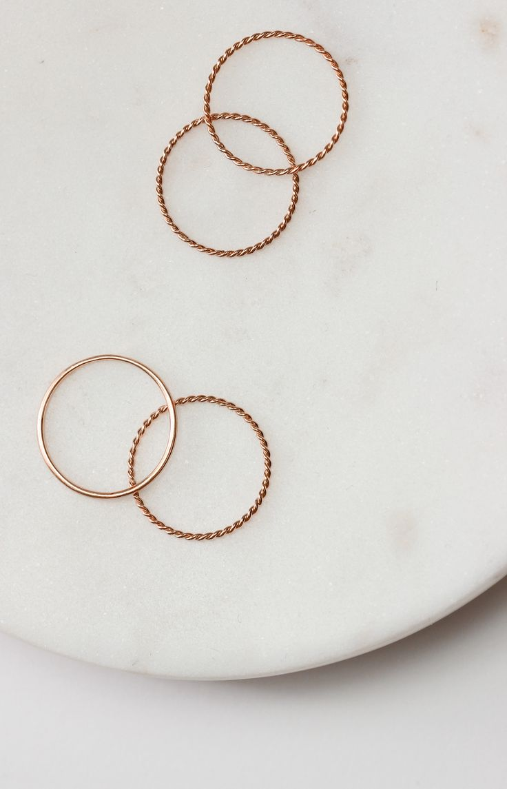 Pre-Release: The Rose Gold Twist Ring