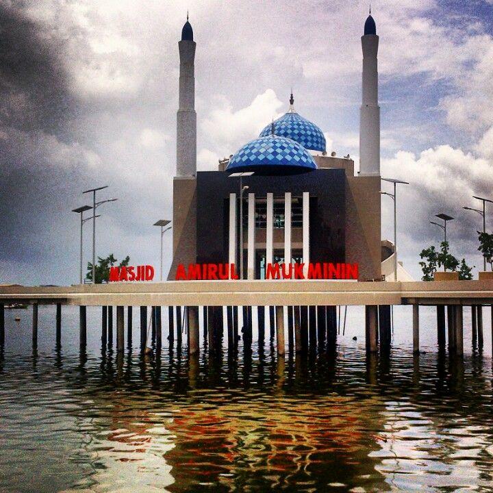 Mosque in makassar indonesia