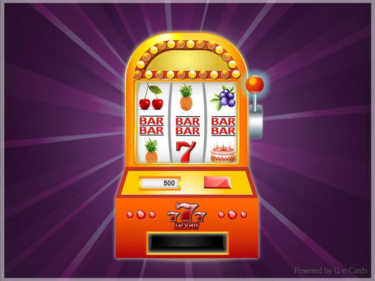 Birthday eCard – Slot Machine