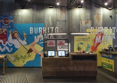 Burrito Mama interiors by Softroom