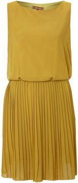 Jolie Moi Pleated open back dress on shopstyle.com.au
