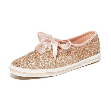Keds for  glitter sneakers by Kate Spade New York. A collaboration between Keds and Kate Spade New York, these low top Kate Spade New York sneakers are covered in luxe,...