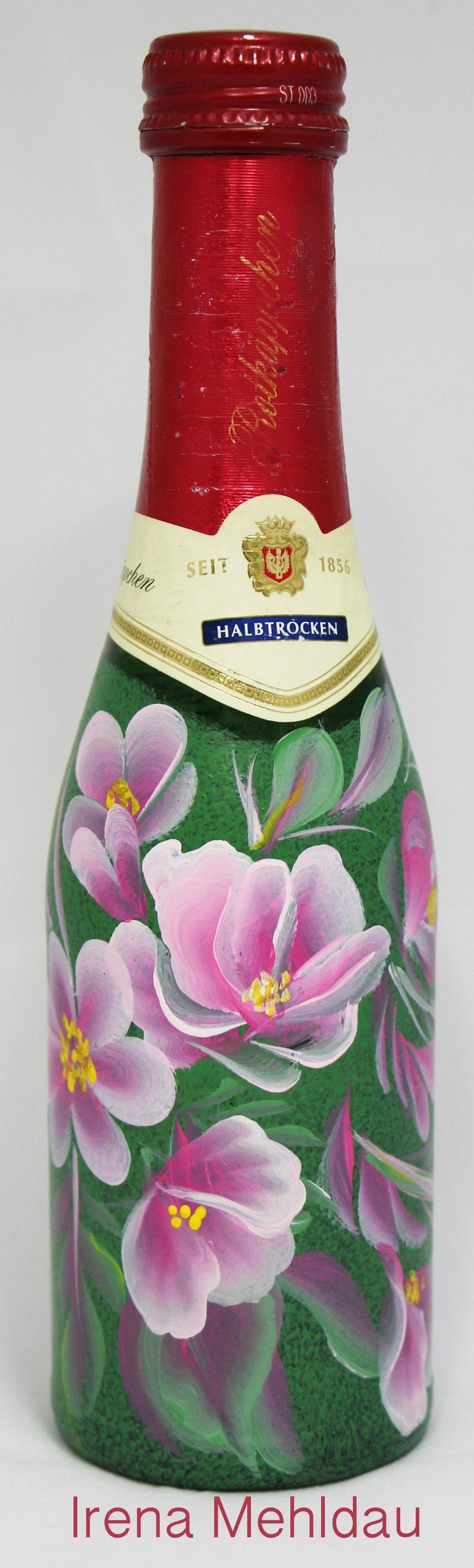 114 best Flaschen images on Pinterest   Bastelarbeiten, Bastelei und ...