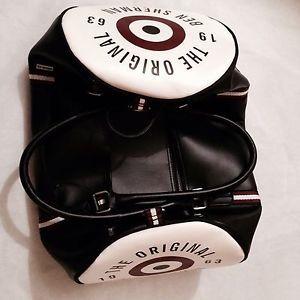 BEN SHERMAN BLACK SHOULDER BARREL BAG RRP £99 - BNWT - Gift idea  | eBay