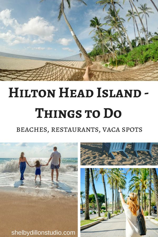 WEEKEND GETAWAY: HILTON HEAD ISLAND - 25 THINGS TO DO WITH KIDS from the Shelby Dillon Studios Blog. Located in South Carolina, the island is home to beautiful sand beaches, amazing golf courses and a diverse range of activities that the children will really enjoy.