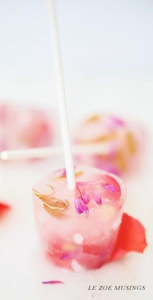 coconut flower popsicles