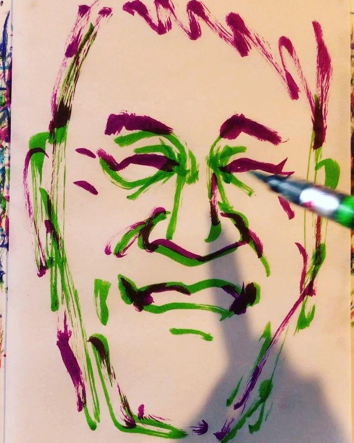 torao fujimotoさんはInstagramを利用しています:「#pierretaki #ピエール瀧 #musician #ミュージシャン #actor #俳優 #瀧 #denkigroove #電気グルーヴ #樹海少年ZOO1 #ミラクルさん #ポンキッキーズ #19670408 #birthday #誕生日 #1mindraw…」