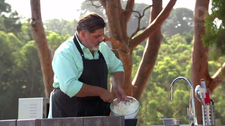 MasterChef Australia Matt's MasterClass: Self-Saucing Chocolate Pudding and Ice Cream Bread