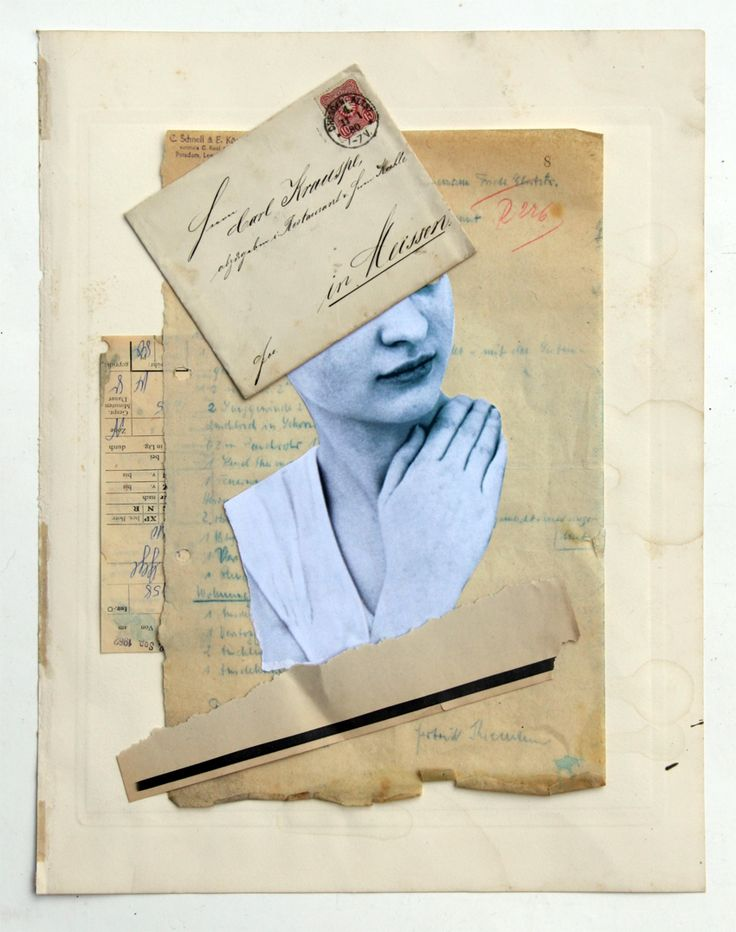 Collage BRIEF, W. Strempler, 2016
