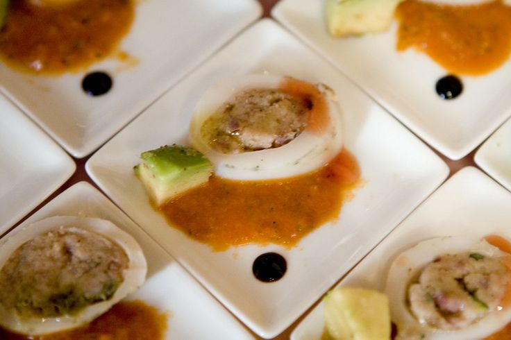 #Calamaretti farciti su coulis di pomodoro fresco