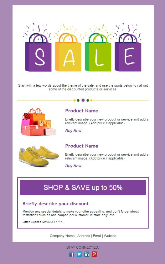 92 best Email Templates from Constant Contact images on Pinterest