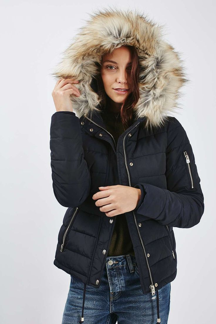 Quilted Puffer Jacket - New In- Topshop