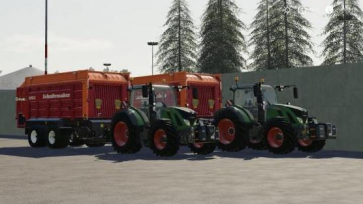 FS19 - Fendt 700 S4 Tractor Download | Game Mods | Tractors
