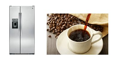 Now You Can Get Your Morning Coffee Right From The Fridge | GE and Keurig have teamed up to offer a refrigerator with a built in coffee dispenser they're calling the Cafe Series