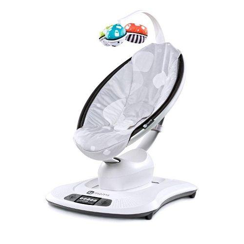 "4moms mamaRoo Infant Seat Silver Plush - 4MOMS - Babies""R""Us$299.99"