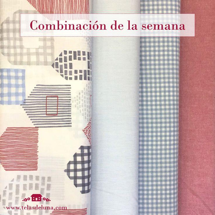 ¡¡Comenzamos la semana con una nueva combinación!! Nada como unas bonitas telas japonesas tan frescas