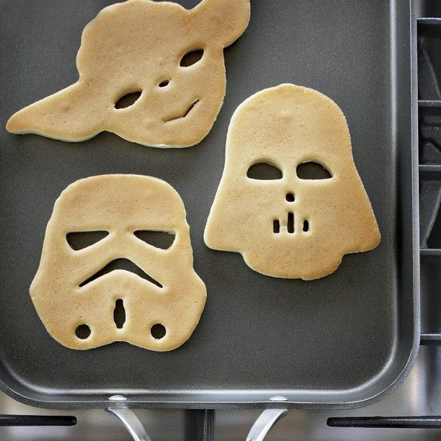 Star Wars Pancakes - totally awesome!