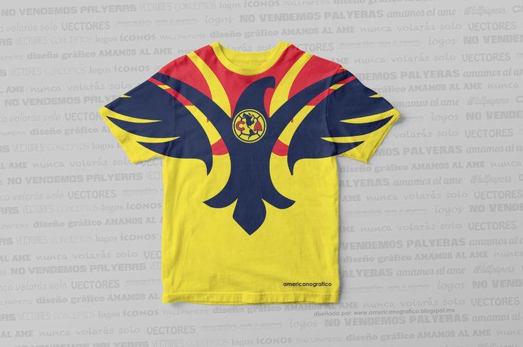 Playera Club América Mod. 171017 #americanografico