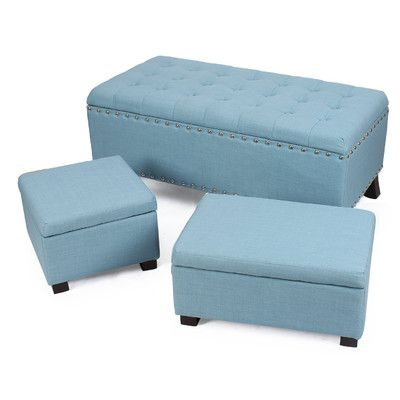 Modern Sofa AdecoTrading Home Piece Ottoman Set u Reviews Wayfair