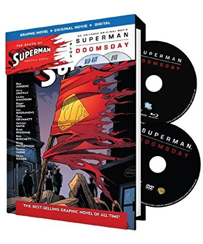 Superman Doomsday (Blu-Ray) @ niftywarehouse.com #NiftyWarehouse #Superman #DC #Comics #ComicBooks