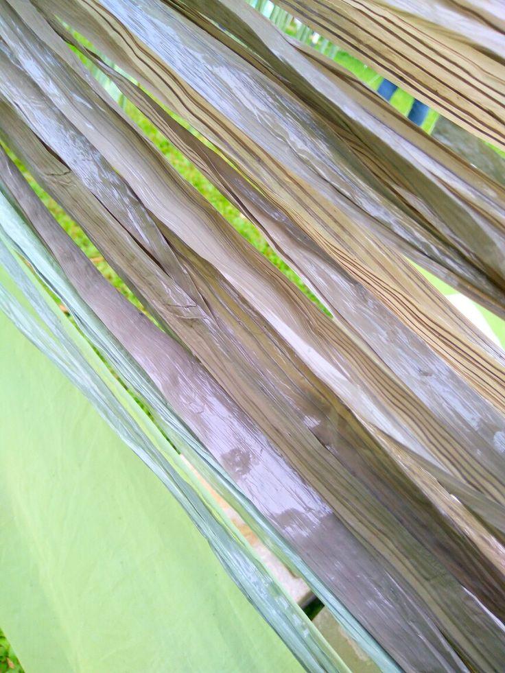 Eksplorasi Material (Tali Rapia dan Plastik Beton Gulungan) | Satria Rakha Amrullah | Kelas 2 | Kelompok 5