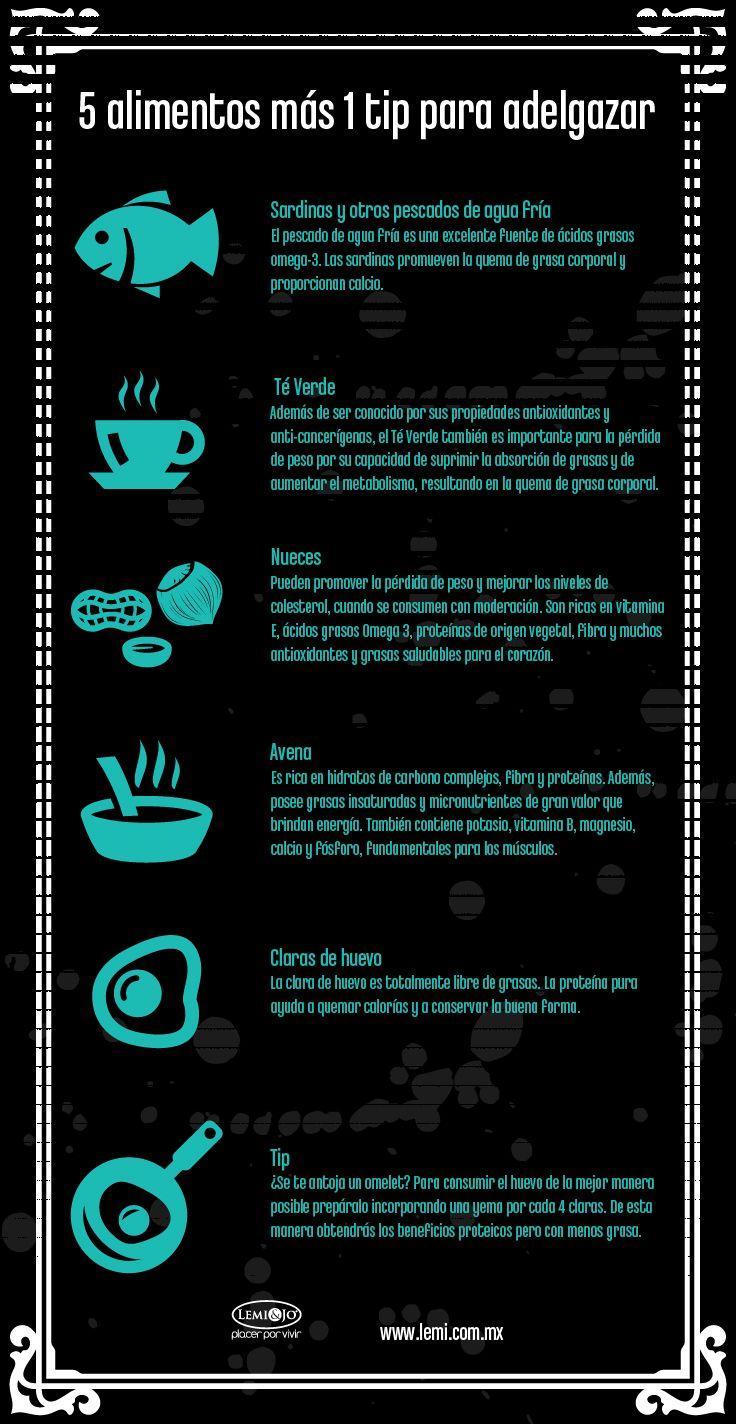 #adelgazar #superalimentos #dieta #nutritivo #salud #saludable #nutricion #alimentacion #infografia #beneficios