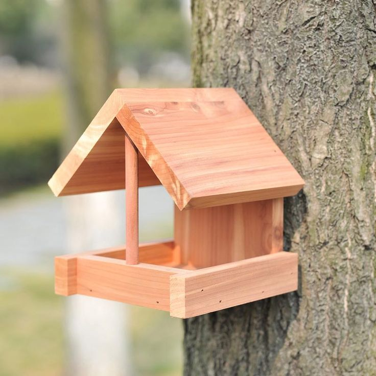 Wooden Bird Feeders Plans Free