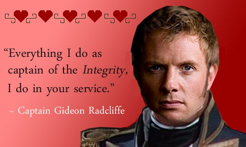 Gideon Radcliffe from The Captain's Christmas Family