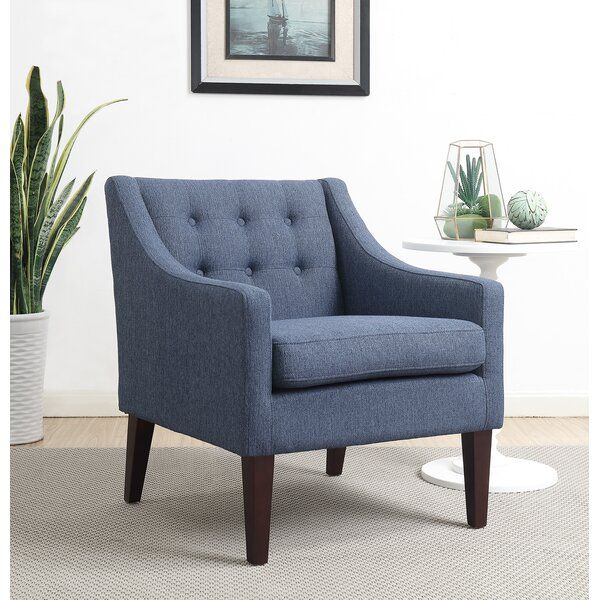 Clopton 21 5 Armchair In 2020 Blue Accent Chairs Accent Chairs