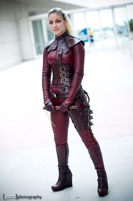 Mord Sith from Legend of the Seeker (The Sword of Truth series by Terry Goodkind is fantastic...)