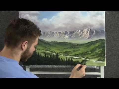 ▶ Looking Over the Valley - Paint with Kevin Hill - YouTube