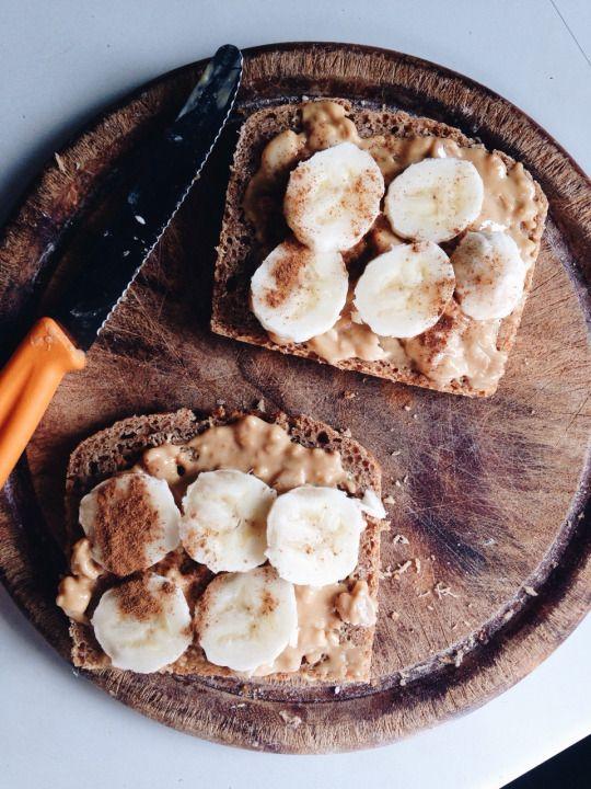 PB & Bananas & Cinnamon