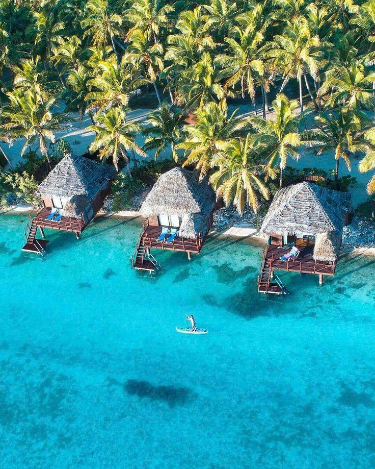 Voyager sur une île paradisiaque