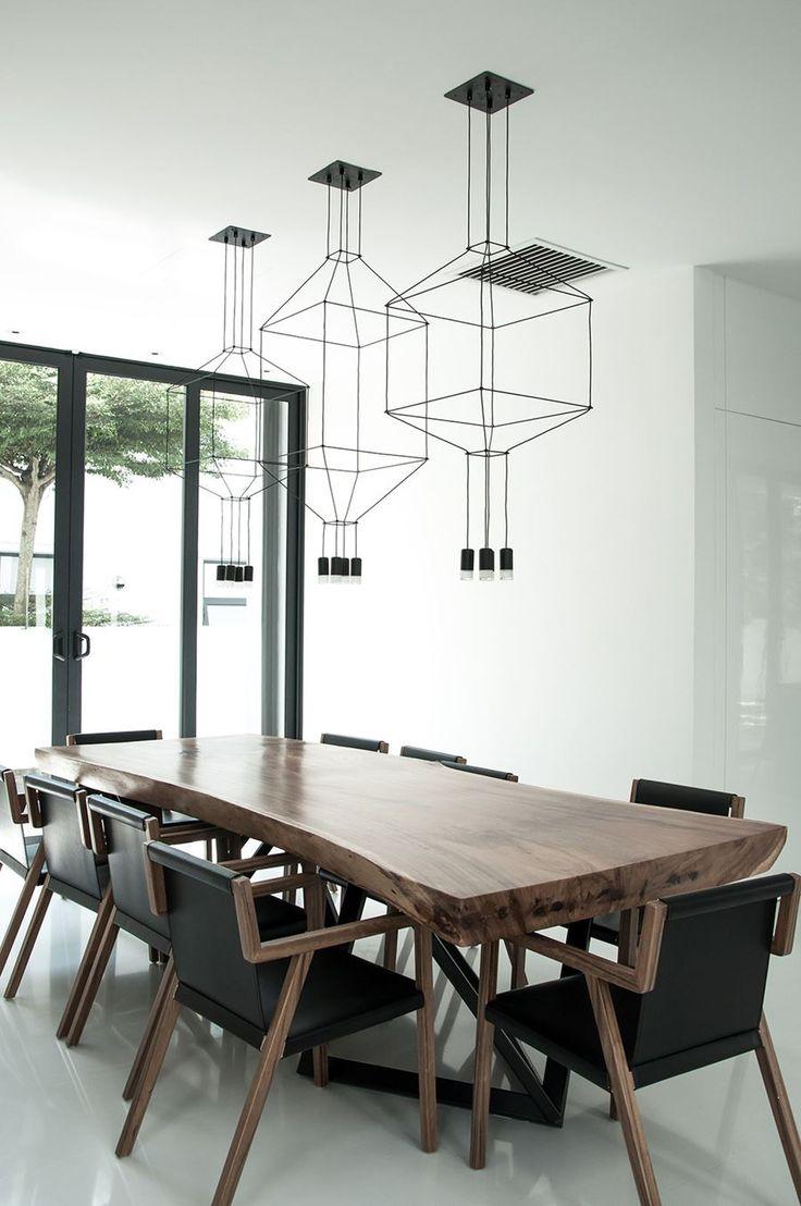 Modern dining table interior design - Best 25 Dining Table Lighting Ideas On Pinterest Dining Lighting Dining Room Lighting And Dining Room Light Fixtures