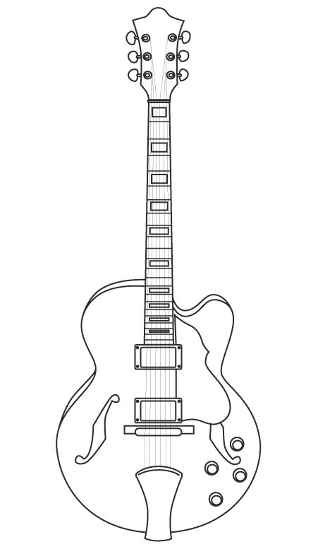 17 mejores ideas sobre Dibujos De Guitarras en Pinterest | Tatuaje ...
