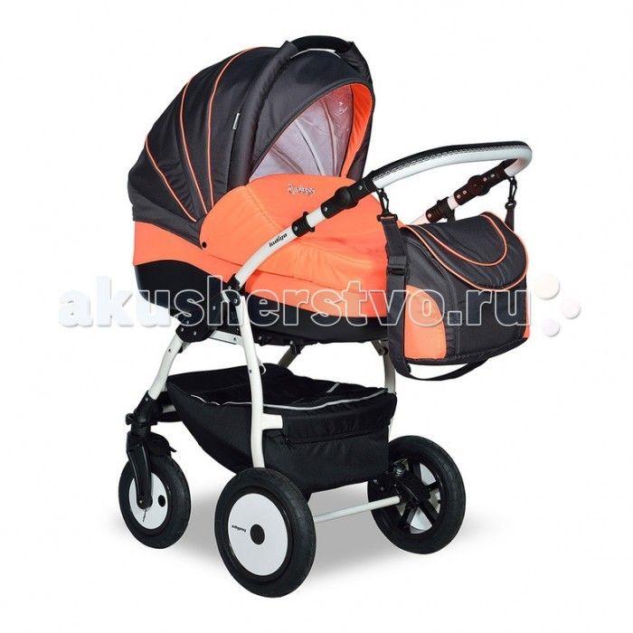 Коляска Indigo F 3 в 1  Коляска Indigo F 3 в 1- это многофункциональная модель, включает в себе все опции, необходимые малышу с самого рождения.  Универсальная коляска разработана и изготовлена в соответствии с обязательными нормами и требованиями к детским товарам и имеет все необходимые сертификаты качества.Чехол от дождя и москитная сетка в комплекте. Пневматические поворачивающиеся колеса.  Особенности: Автокресло в комплекте Регулируемая высота ручки Пружинный механизм амортизации…