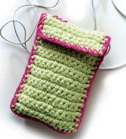 Crochet Bag Pattern: Handy Utility Cases by Judith L. Swartz
