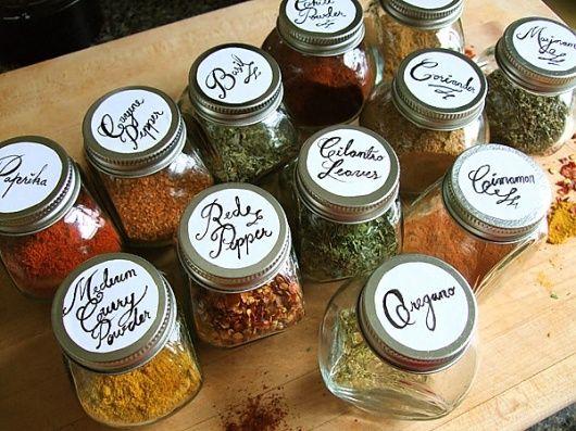 хранение специй и пряностей на кухне
