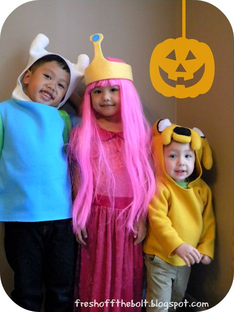 Our 2013 Halloween Costumes: Adventure Time! #diycostumes