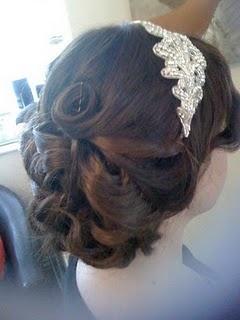 Wedding hairVintage Hairstyles, Hair Brain, Prom Hair, Wedding Hairs, Head Band, Headbands, Hair Maybe