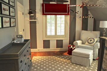 Little Boys Airplane Room Design Ideas, Pictures, Remodel, and Decor - page 3